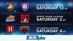 Brown-Harvard Highlights College Lacrosse Tripleheader On NESNplus
