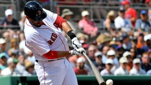 J.D. Martinez Scratched From Red Sox Lineup With Back Tightness