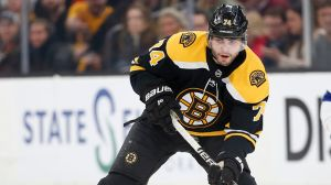 Jake DeBrusk Continues Hot Streak With Power-Play Assist Vs. Devils