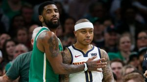 Isaiah Thomas Has Interesting Take On Celtics Fans Booing Kyrie Irving