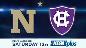 Holy Cross Men's Lacrosse To Play Navy In Pivotal Patriot League Matchup