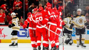 Bruins Wrap: Third Period Burst Stuns Boston In 6-3 Loss Vs. Red Wings