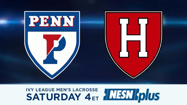 Harvard Men's Lacrosse Takes On UPenn In Key Ivy League Matchup On NESNplus