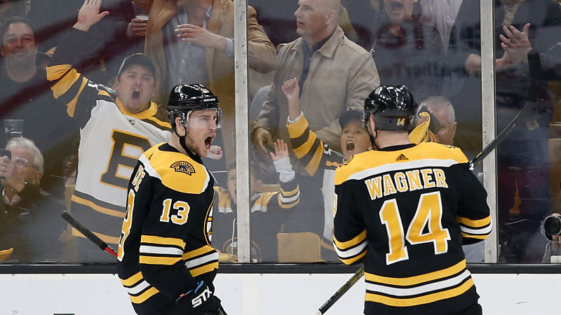 Bruins' Cam Neely Hints At Charlie Coyle Possibly Moving To Wing Position