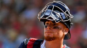 Red Sox's Christian Vazquez Shares Funny Story About Wife Helping Him Train
