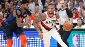 Damian Lillard Laughs Off Paul George's Bitter Opinion Of His Buzzer-Beater