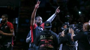 LeBron James, Carmelo Anthony Among Stars At Dwyane Wade's Final Game