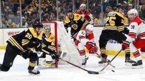 Bruce Cassidy Knows Hurricanes' Top Line Will Be 'Handful' For Bruins
