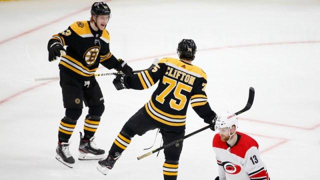 Berkshire Bank Hockey Night In New England: Projected Bruins-Hurricanes Game 3 Lines, Pairings