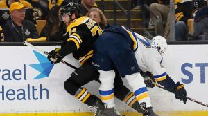 Bruce Cassidy Applauds Bruins' Willingness To Take Hits In Game 1 Win Vs. Blues