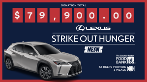 Enter the Strike Out Hunger Sweepstakes