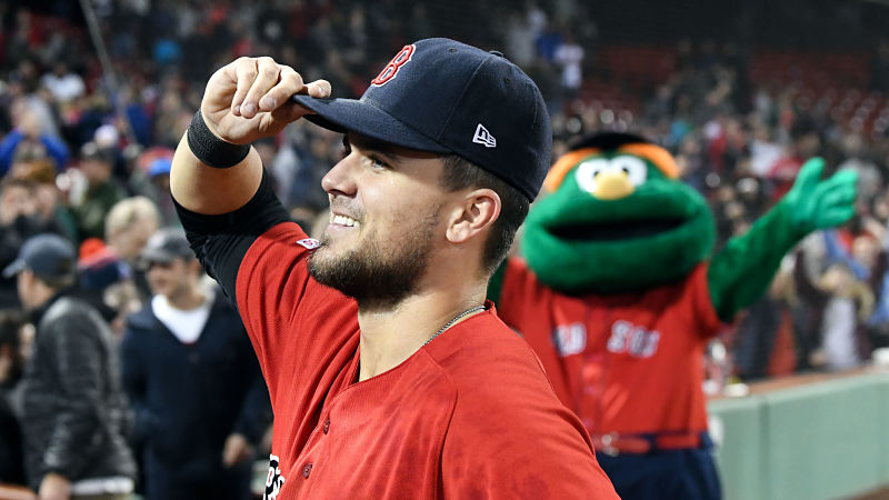 Michael Chavis Shares Hilarious Story About Neighbor While Working Out