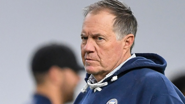 Bill Belichick In Danger Of Running Out Of Fingers For Super Bowl Rings