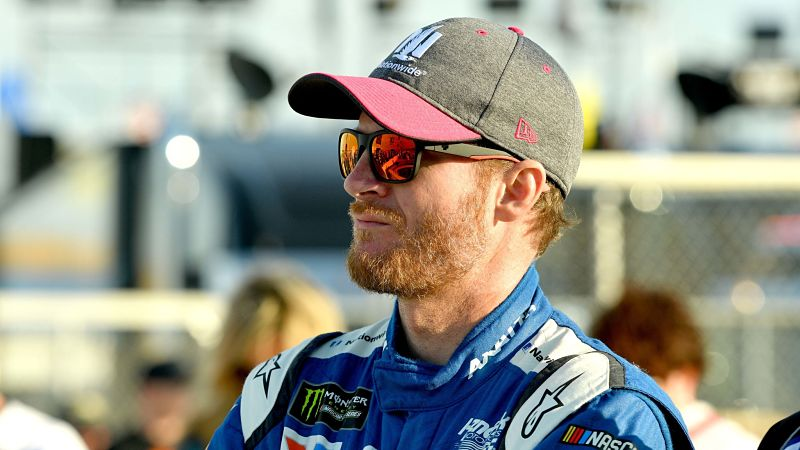 Dale Earnhardt Jr. Has Simple Reaction To Bubba Wallace Incident At Talladega