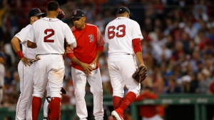 Red Sox Wrap: Boston Drops Third Straight, Falls To Rangers 9-5