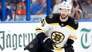 Here's Latest On David Krejci After Bruins Pivot Leaves Early Vs. Ducks