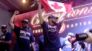 What Stephen Curry Told Drake On Phone After Raptors' NBA Finals Win
