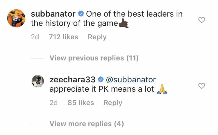 Predators' P.K. Subban; Bruins' Zdeno Chara