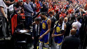 Raptors Fans Cheer Kevin Durant's Injury; DeMarcus Cousins Calls Them 'Trash'