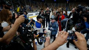 Watch Blues Fan Laila Anderson Celebrate Game 7 Stanley Cup Victory