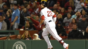 Red Sox Wrap: Five Home Runs Help Lift Boston To 7-6 Victory Vs. Rangers