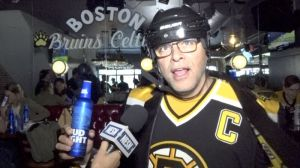 Bruins Fans Get Amped For Stanley Cup Final Game 7 Vs. Blues At TD Garden