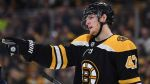 Bruins' Torey Krug Takes On Patric Hornqvist In Intense Fight