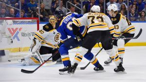 Bruce Cassidy Laments Rebound Goals In Bruins' Game 4 Loss To Blues