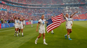 President Donald Trump Congratulates USWNT On World Cup Victory