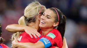 Alex Morgan's 'Sipping Tea' Celebration Draws Ire Of English Fans, Analysts