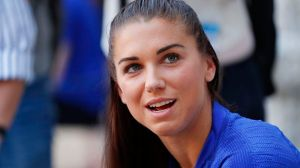 Alex Morgan Calls Out 'Double Standard' Over Goal Celebration Controversy