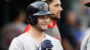 Red Sox Vs. Giants Lineups: Andrew Benintendi Leads Off, Mookie Betts Sits