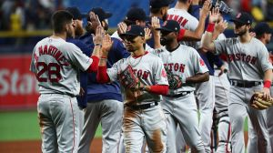 Red Sox Look To Continue Success At Tropicana Field In Series Finale