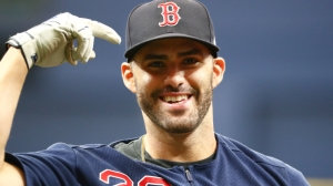Red Sox Vs. Padres Lineups: J.D. Martinez In Right, Jackie Bradley Jr. Sits