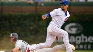 Watch Javier Báez's Wild No-Look, Behind-The-Back Tag Vs. Padres