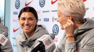 Megan Rapinoe Defends Alex Morgan From USA Women's Soccer Team's Critics