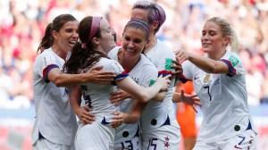 Watch USA Women's Soccer Fans Jubilantly Celebrate World Cup Final Win