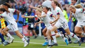Watch USA Women's Soccer Team Lift World Cup Trophy After Final Win