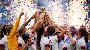 USA Women's Soccer's World Cup Final Win Celebrated In Patriotic Google Doodle