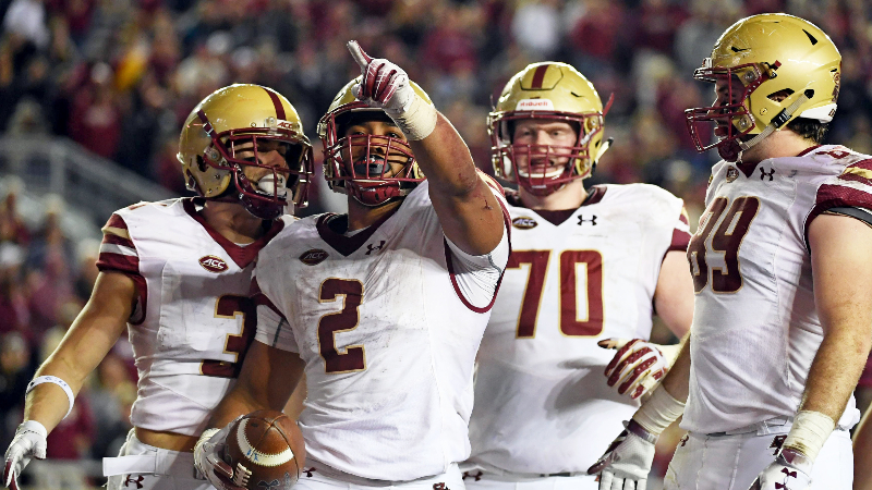 College Football Playoff Odds: Boston College Long Shot ...