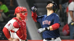 Red Sox Vs. Angels Lineups: Boston Totes Out Same Lineup In Middle Game
