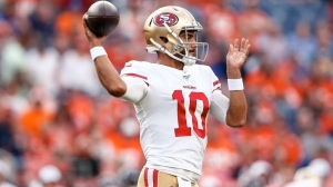 49ers' Jimmy Garoppolo Struggles In First Action Since ACL Injury Vs. Broncos