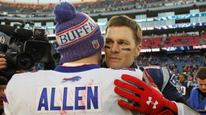 If Bills' Josh Allen Improves This Season, Tom Brady Is Partially To Blame