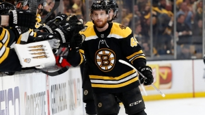 Matt Grzelcyk Leaves, Returns To Bruins Game After Collision With Cody Eakin