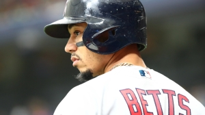 Red Sox Vs. Rangers Lineups: Mookie Betts Sits, Andrew Benintendi Leads Off
