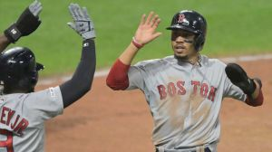 Red Sox Wrap: Rafael Devers Collects Six Hits, Boston Beats Indians 7-6