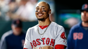 Watch Red Sox's Mookie Betts Make Insane Throw For Out At Third Base