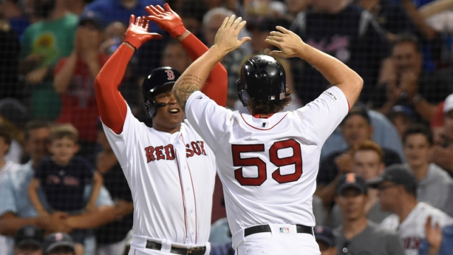 Red Sox Vs. Yankees Lineups: Sam Travis Starts, Jackie Bradley Jr. Sits
