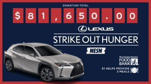 Lexus 'Strike Out Hunger' Program Returns In 2019 To Benefit Greater Boston Food Bank