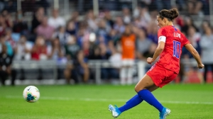 USWNT's Carli Lloyd Explains What Moving Olympics Means For Her Career